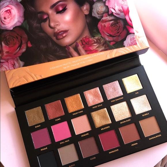 Huda Beauty Makeup Rose Gold Remastered Eyeshadow Palette Poshmark